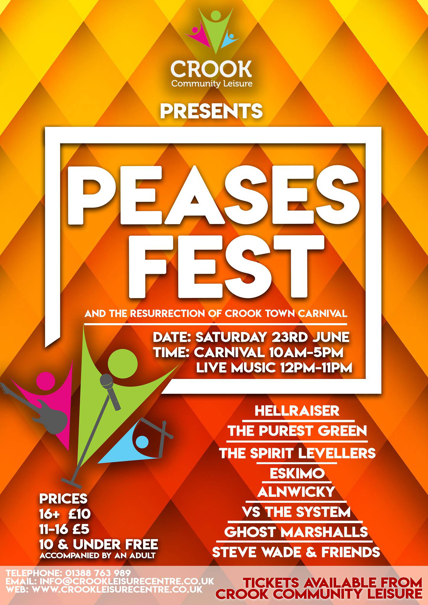 Peases Fest & the resurrection of Crook Town Carnival